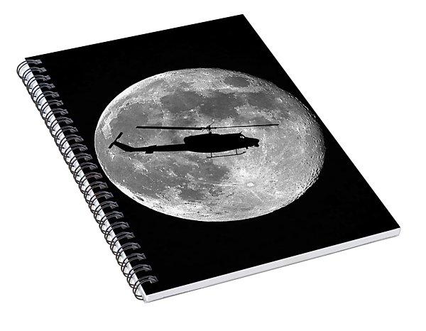 Huey Moon Spiral Notebook