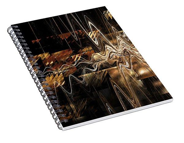 Spiral Notebook featuring the digital art Humankind by Menega Sabidussi