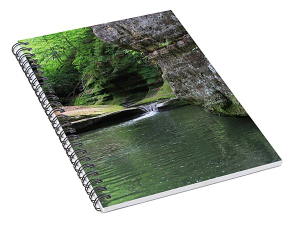 Illinois Canyon May 2014 Spiral Notebook