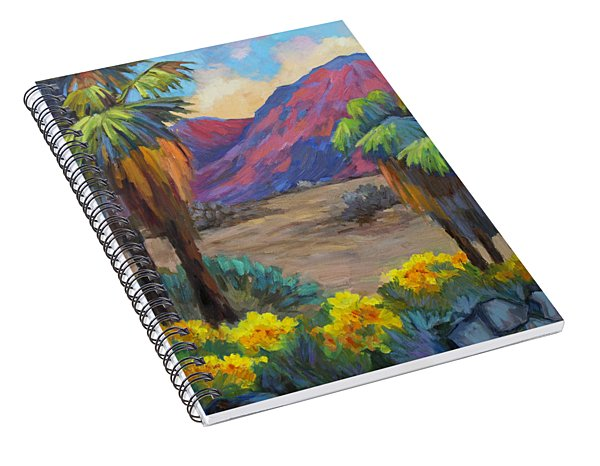 Indian Canyon In Spring Spiral Notebook