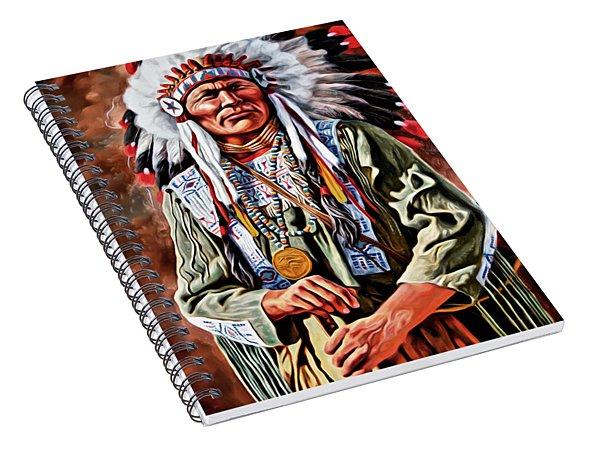 Indian Chief Spiral Notebook