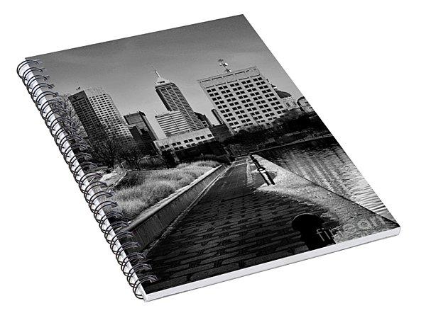 Indianapolis Skyline 21 Spiral Notebook