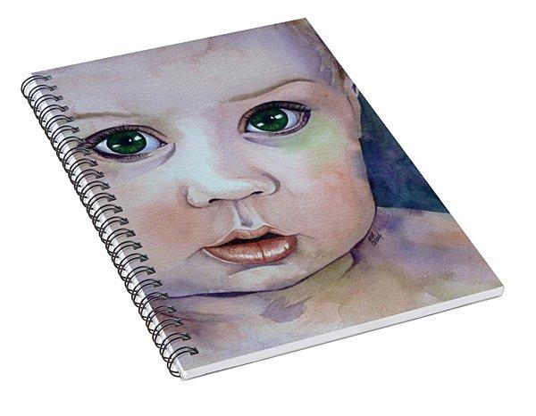 Innocent  Spiral Notebook