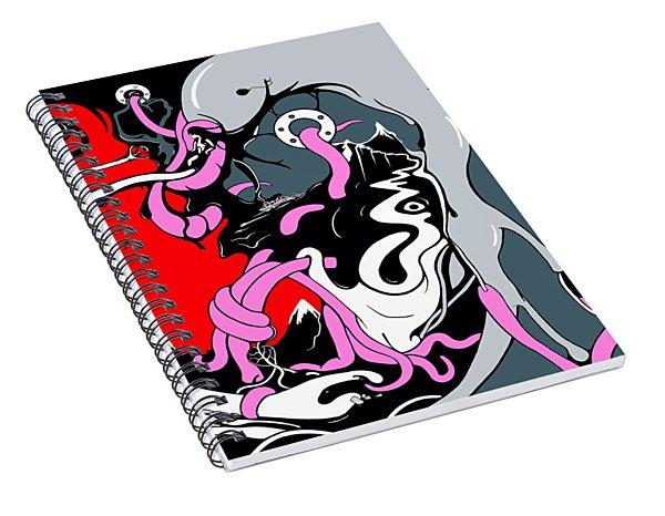 Insanity Spiral Notebook