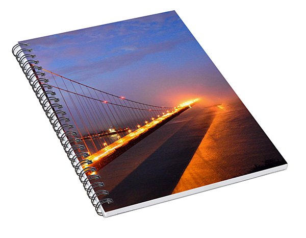 Inspiration  Moved Me Brightly Spiral Notebook