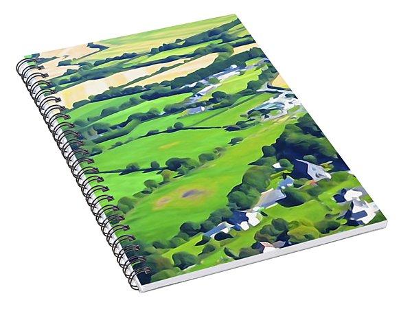Irish Skyscape Spiral Notebook