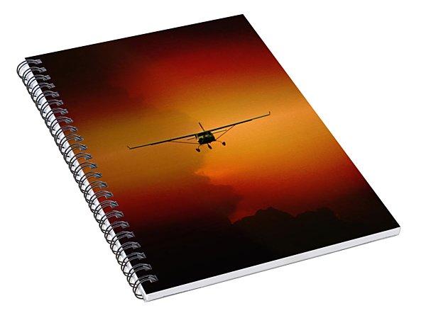 Jabiru Sunset Spiral Notebook