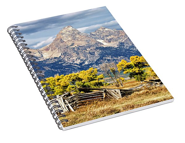 Jackson Hole Spiral Notebook