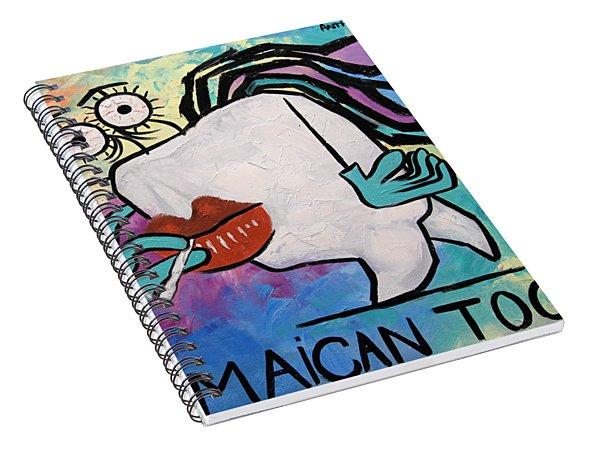 Jamaican Tooth Spiral Notebook