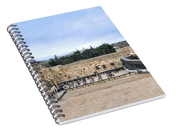Jerusalem The Western Wall Spiral Notebook