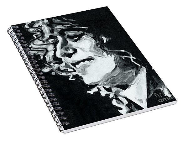 Jimmy Page - Magic Riff Mastermind Spiral Notebook