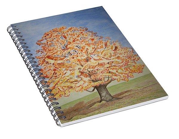 Jolanda's Maple Tree Spiral Notebook