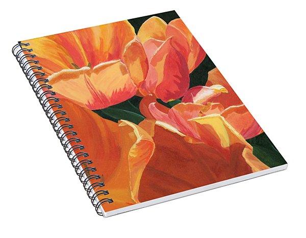 Julie's Tulips Spiral Notebook
