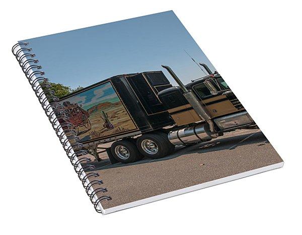Keep Those Wheels A Truckin Spiral Notebook