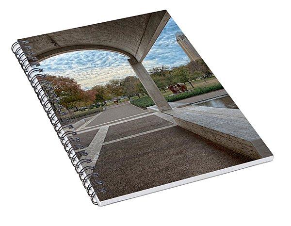 Kimbell Art Museum Fort Worth Spiral Notebook