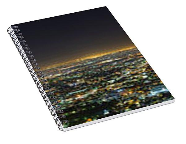 La At Night Spiral Notebook