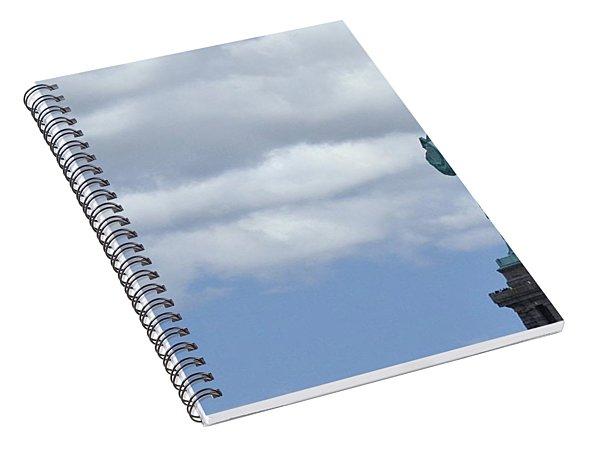 Lady Liberty   1 Spiral Notebook