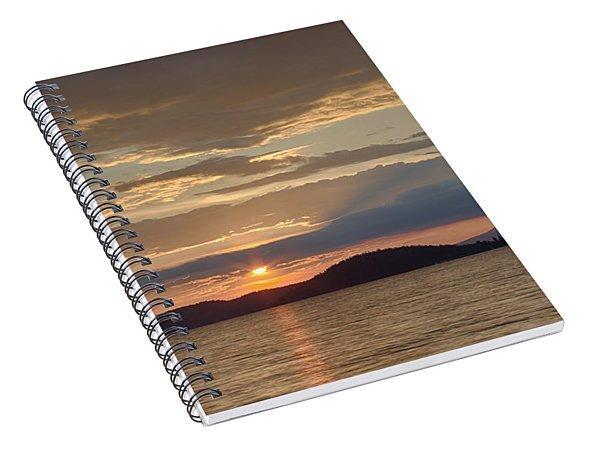 Lake Coeur D Alene Spiral Notebook