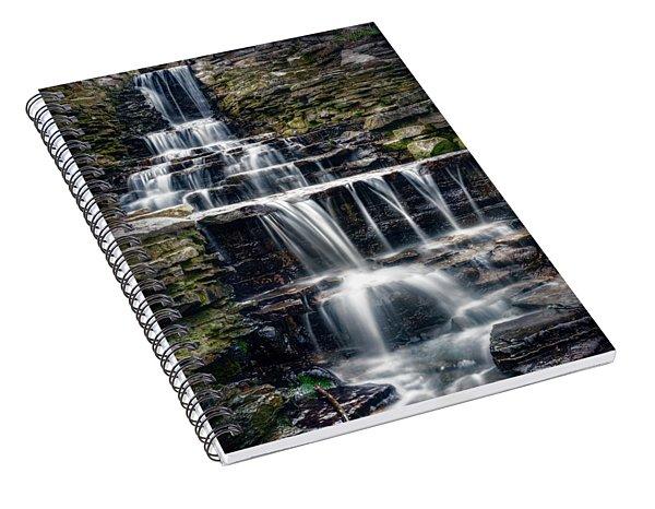 Lake Park Waterfall Spiral Notebook
