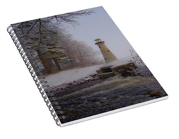 Lake Potanipo Lighthouse Spiral Notebook