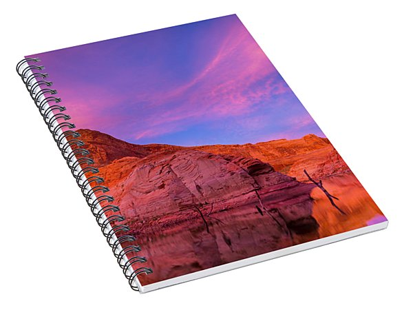 Lake Powell Dawn Spiral Notebook