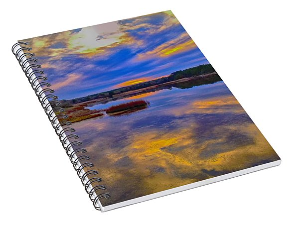 Last Sunset Spiral Notebook