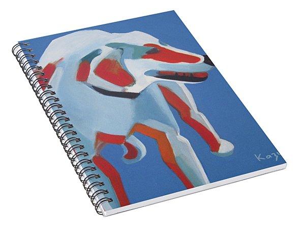 Laughing Dog Spiral Notebook