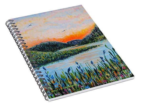 Lazy River Spiral Notebook