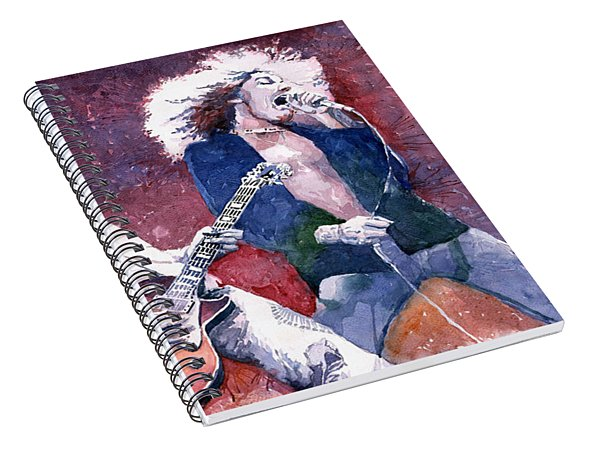 Led Zeppelin Jimmi Page And Robert Plant  Spiral Notebook