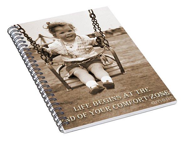 Life Begins Spiral Notebook