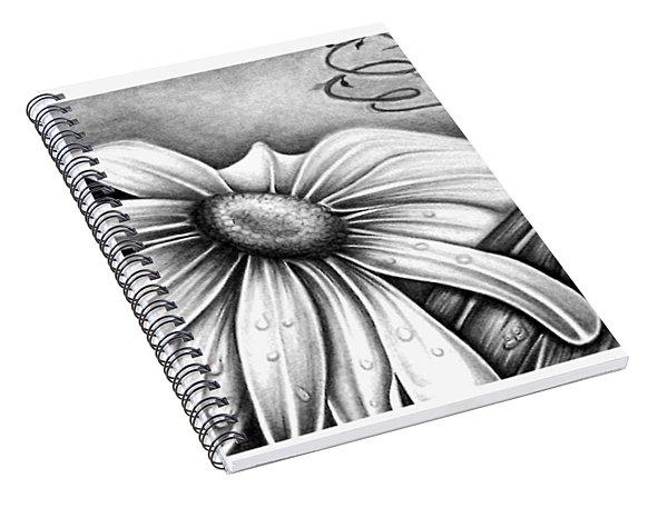 Lily Flower Spiral Notebook