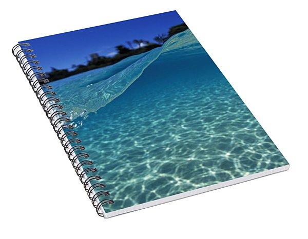Liquid Energy Spiral Notebook