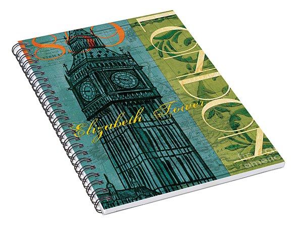 London 1859 Spiral Notebook