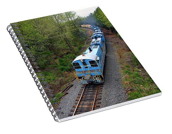 Long Train Rolling Spiral Notebook