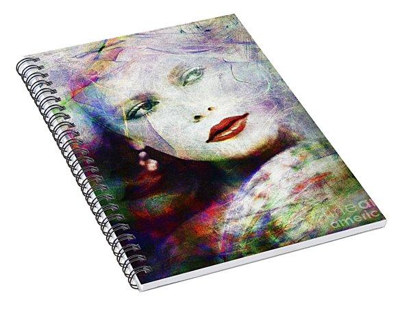 Looking At Tomorrow Spiral Notebook
