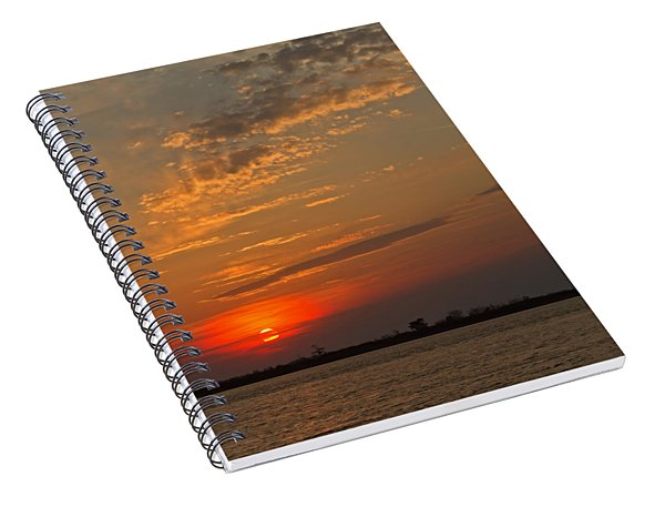 Lost In Wispy Cloudy Spiral Notebook