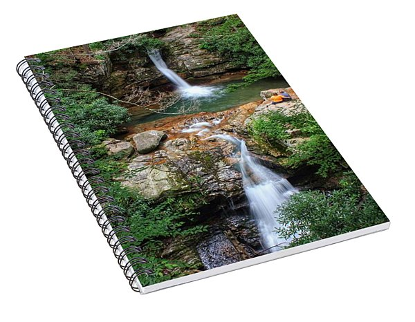 Love At The Blue Hole Spiral Notebook
