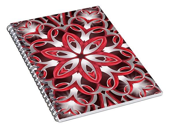 Love Blossoms Spiral Notebook