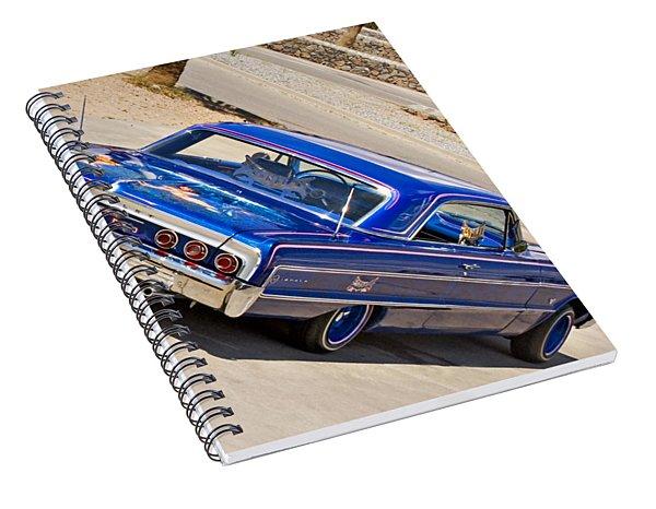 Lowrider_19d Spiral Notebook