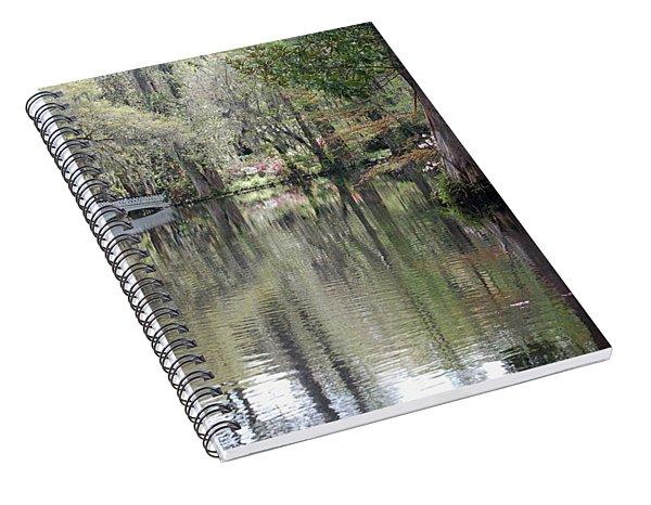 Magnolia Plantation Gardens Series II Spiral Notebook