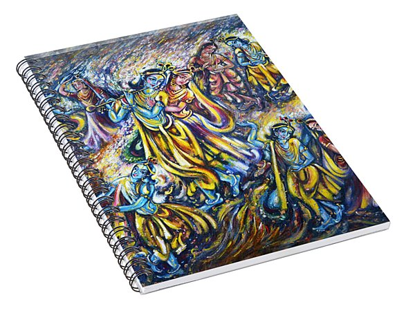 Maha Rass Spiral Notebook