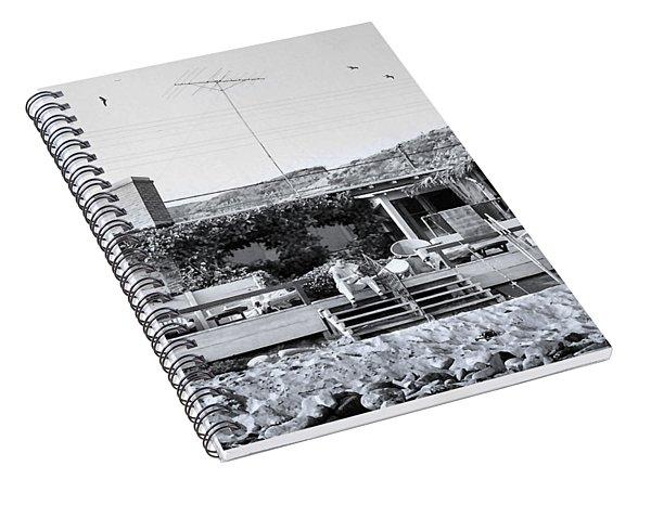 Malibu Beach House - 1960 Spiral Notebook