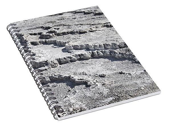 Mammoth Terraces Detail Spiral Notebook