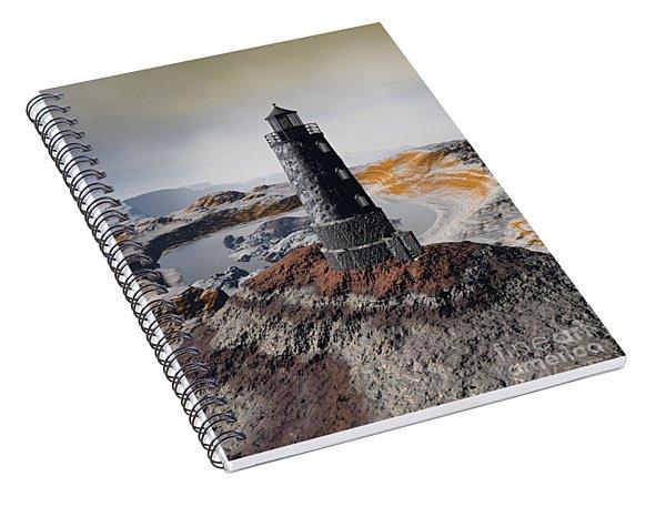 Marine Memory - Surrealism Spiral Notebook