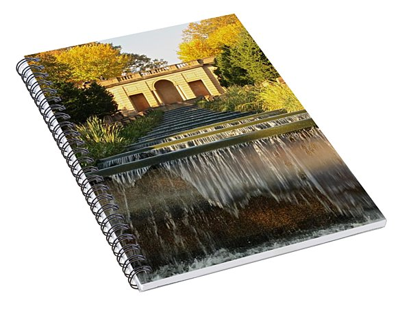 Meridian Hill Park Waterfall Spiral Notebook