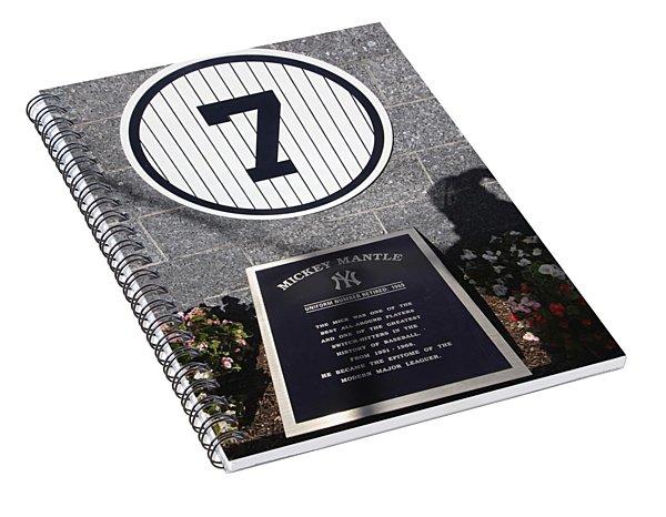 Mickey Mantle Spiral Notebook