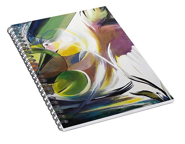 Midnight On The Bayou Spiral Notebook
