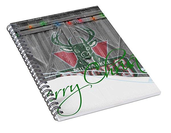 Milwaukee Bucks Spiral Notebook