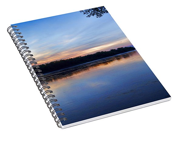 Missouri River Blues Spiral Notebook