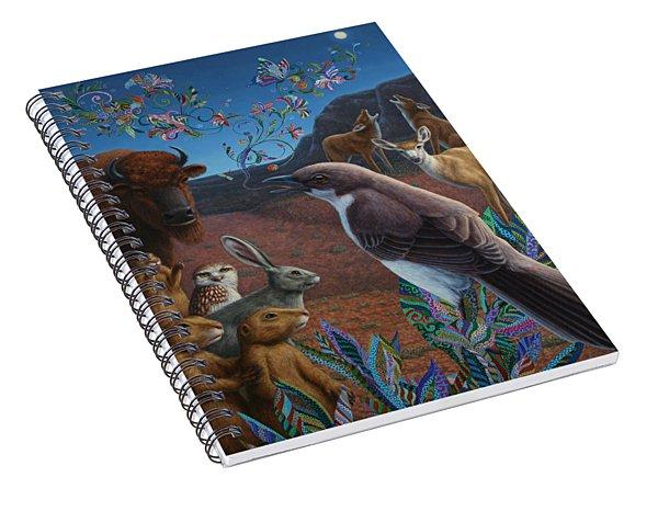Moonlight Cantata Spiral Notebook